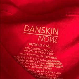 Danskin short sleeve shirt